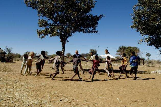 Down to Earth: dancing in Africa