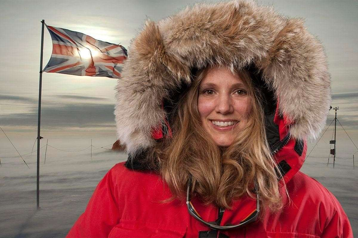 Emily Shuckburgh, British Antarctic Survey. (14476800)