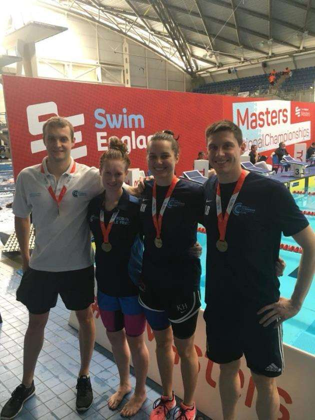 City of Cambridge Swimming Club mixed relay team