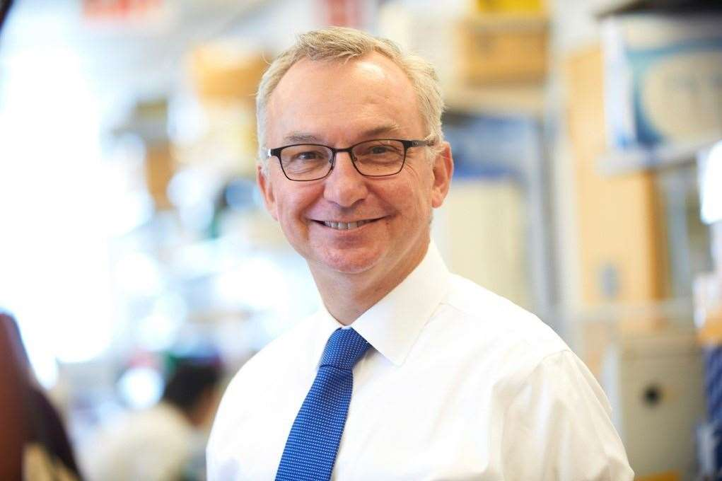 Dr Jose Baselga, AstraZeneca's executive vice-president, research & development oncology. Picture: AstraZeneca (8200894)