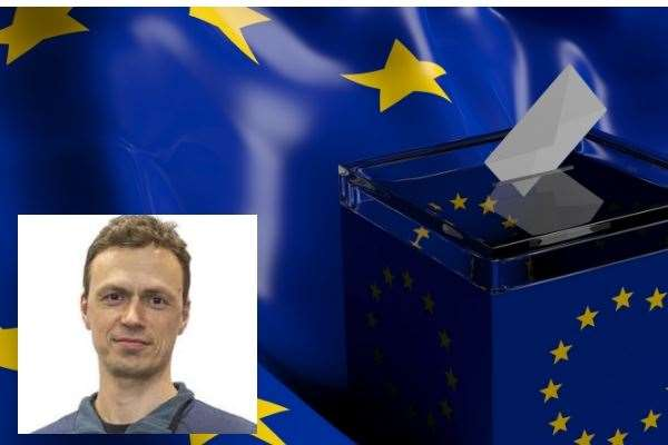 Attila Csordas is standing for election to the European Parliament on May 23, in the East of England (10610393)