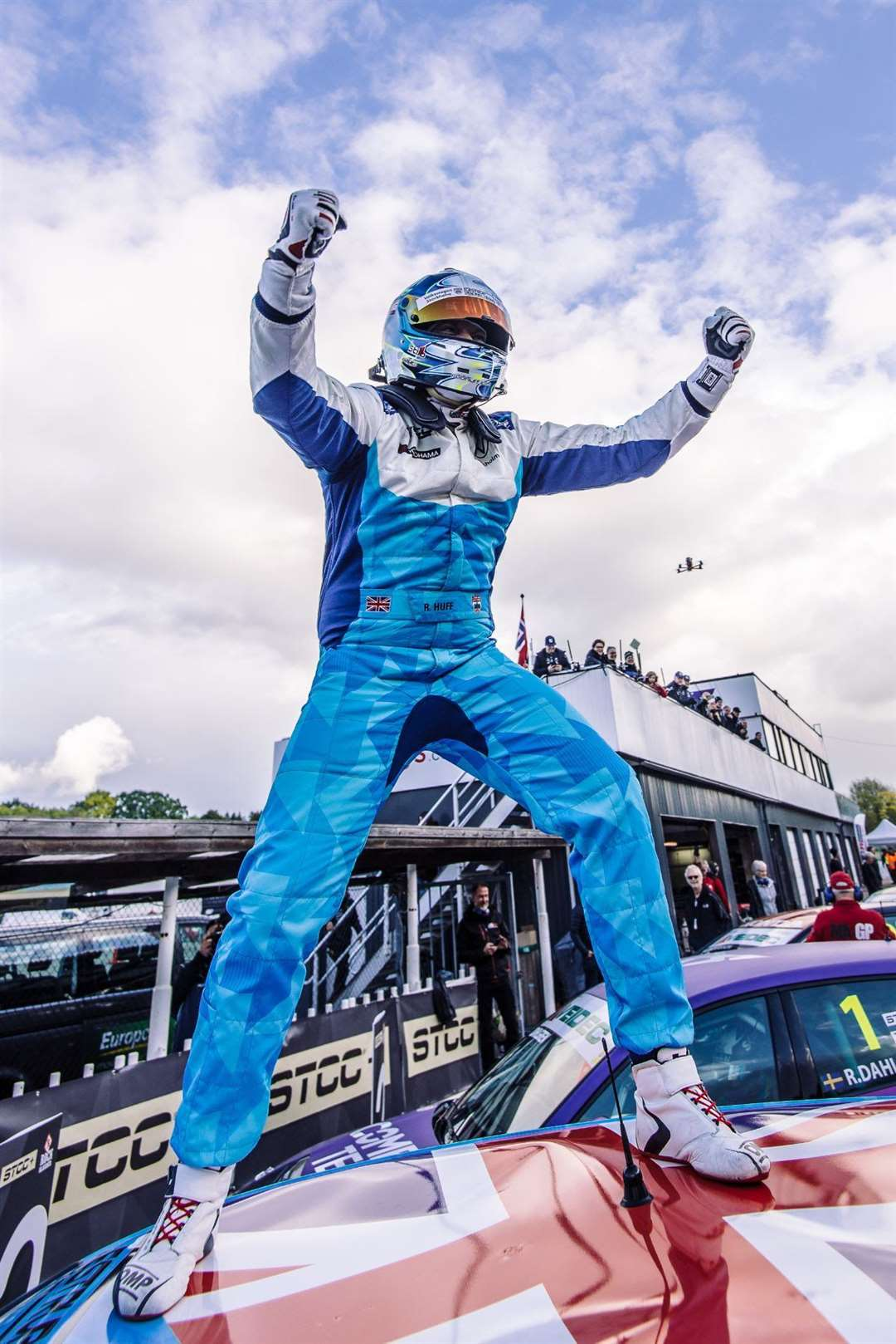 Rob Huff wins the 2020 STCC TCR Scandinavia championship at the Ring Knutstorp. Picture: Martin Öberg (42648183)