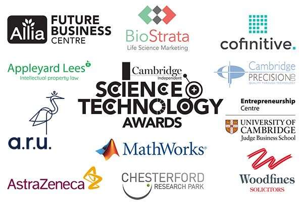 The sponsors of the 2020 Cambridge Independent Science and Technology Awards