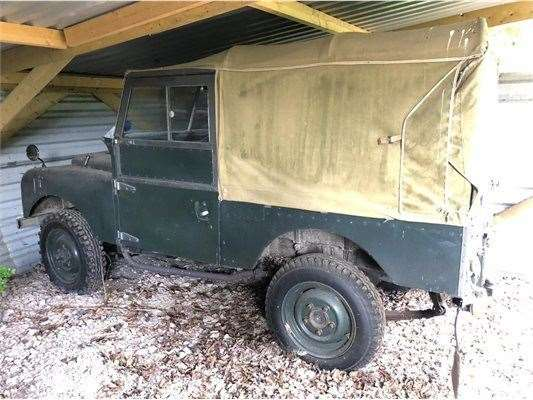 The Series 1 Land Rover from 1954 was stolen from Twentypence Road, Wilburton (45627047)