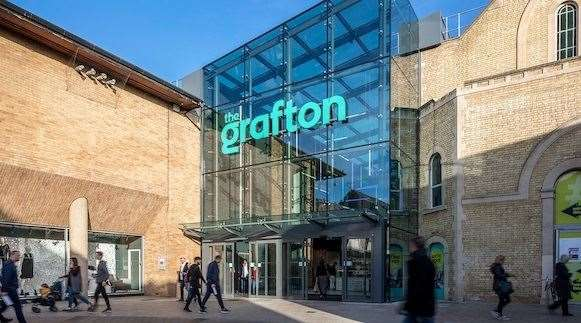 The Grafton centre will introduce some flexible office space