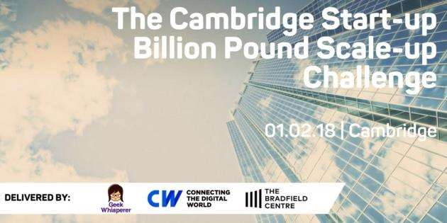 The CW Billion Dollar Start-Up Challenge takes place at the Bradfield Centre on February 1