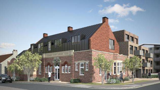 Romsey Labour Club impressions . Picture: DPA Architects