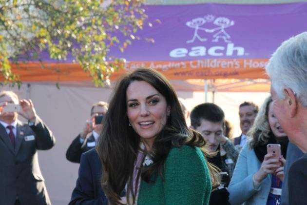 The Duchess of Cambridge Kate