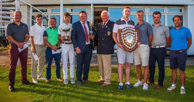Winners from the Cambridgeshire Area Golf Union County Championships. Picture: Kevin Diss Photography/kevindiss.com