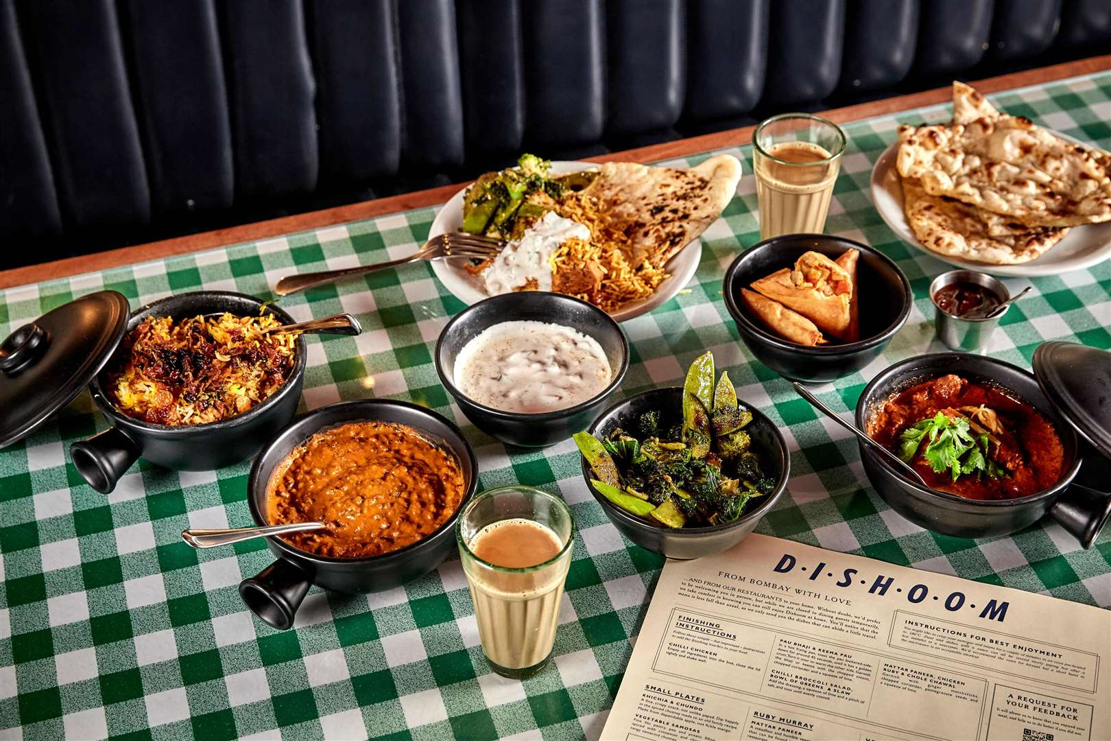 A Dishoom delivery. Picture: Charlie McKay