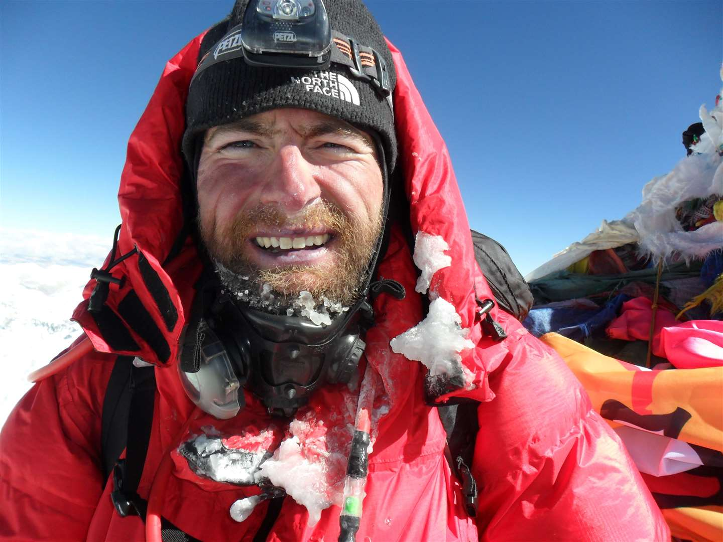 James Ketchell has climbed Everest