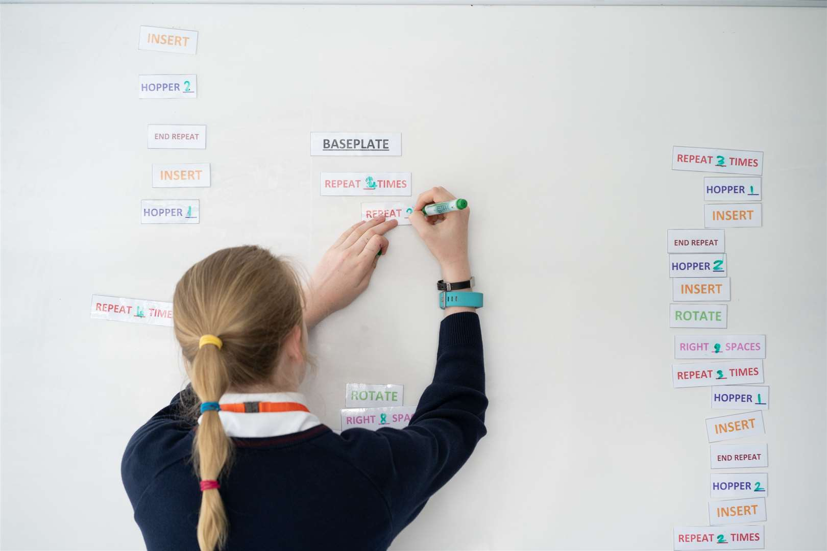 An event at Cambridge Consultants for schoolchildren, organized by Form the Future as part of its Cambridge LaunchPad work.  Image: Shaping the future