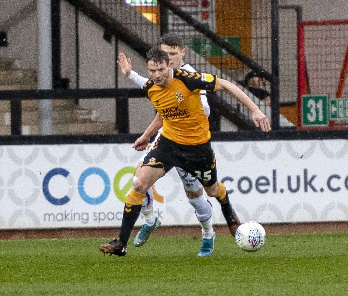 Paul Mullin scored Cambridge United's last goal of the 2019/20 campaign, in a 2-1 defeat to Leyton Orient.