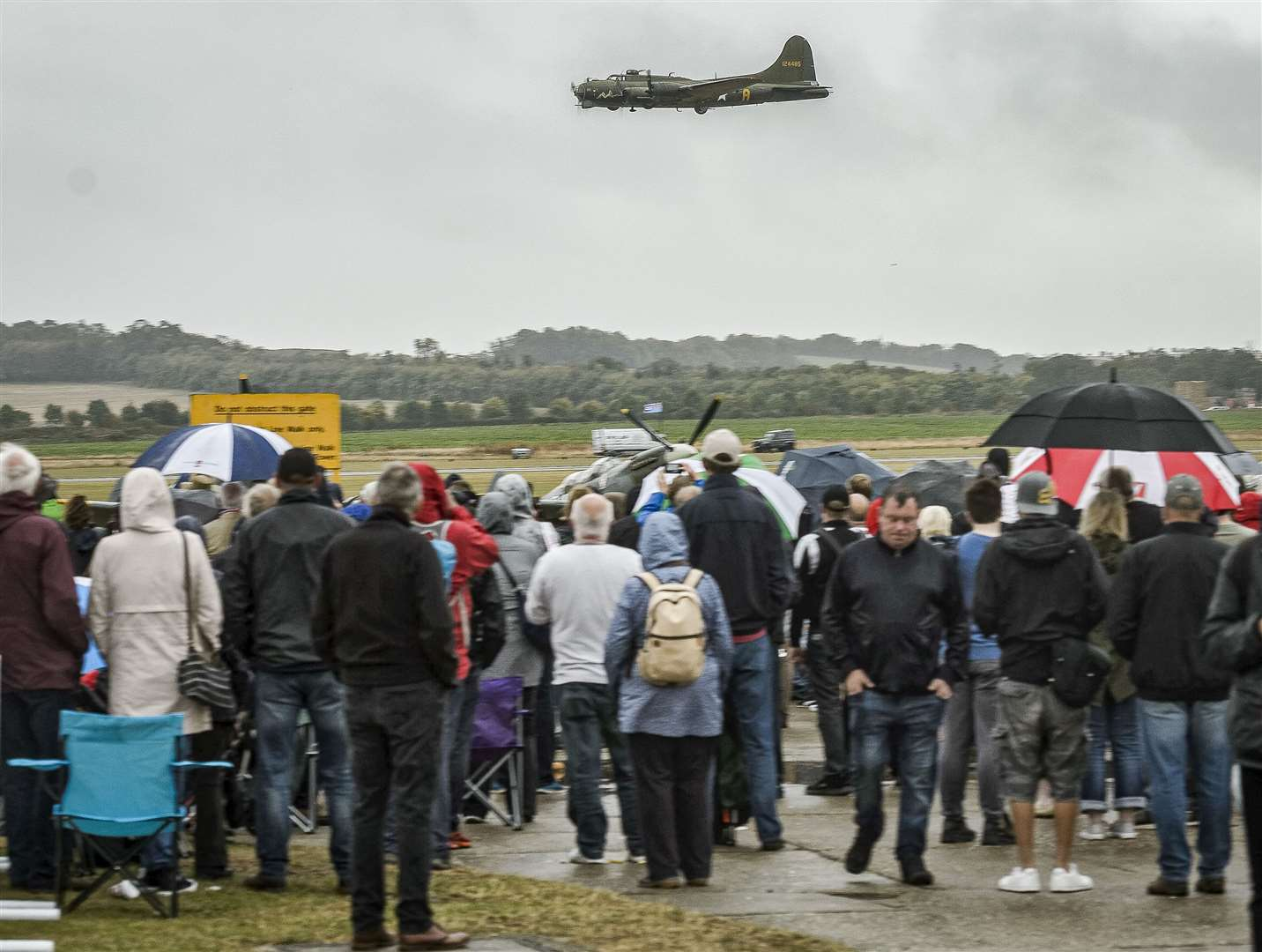 A previous Battle of Britain Air Show at the Imperial War Museum, Duxford. Picture: Paul Sanwell