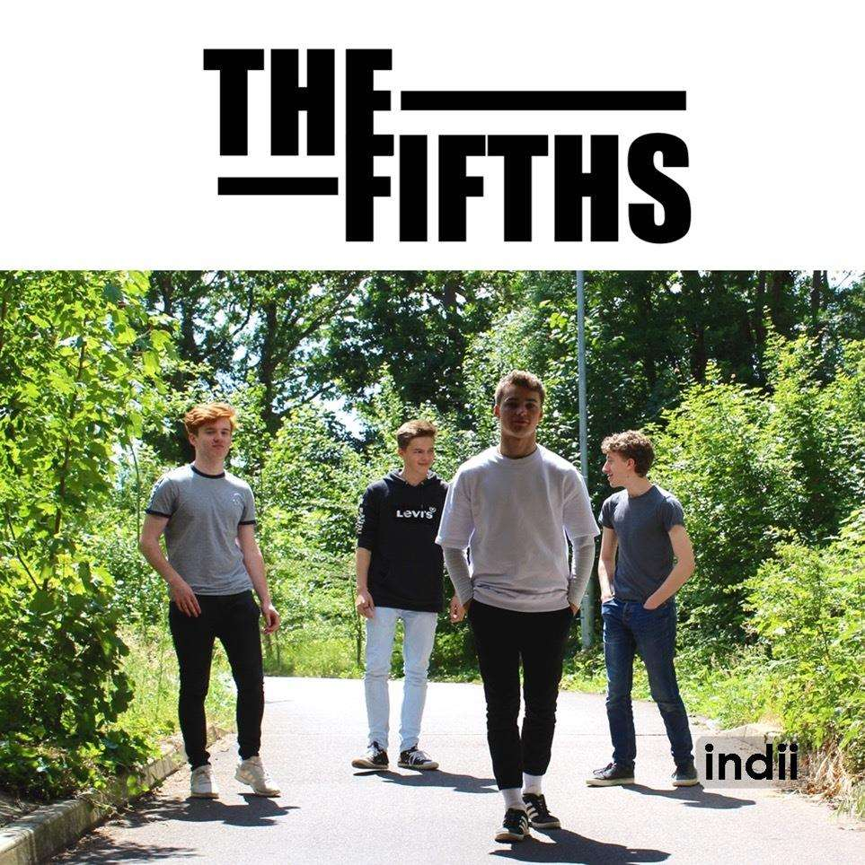 Local band The Fifths: indii designed their artwork on the free app as part of its inclusive functionality