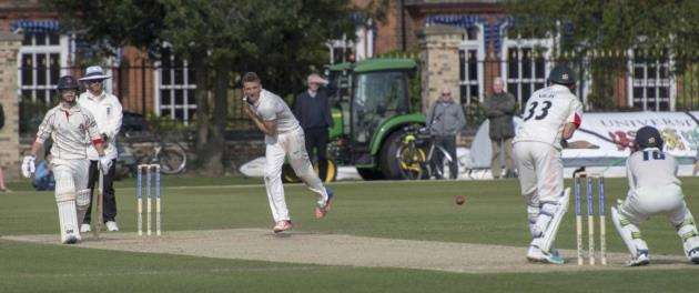 Sam Rippington in action for Cambridge MCCU. Picture: Keith Heppell