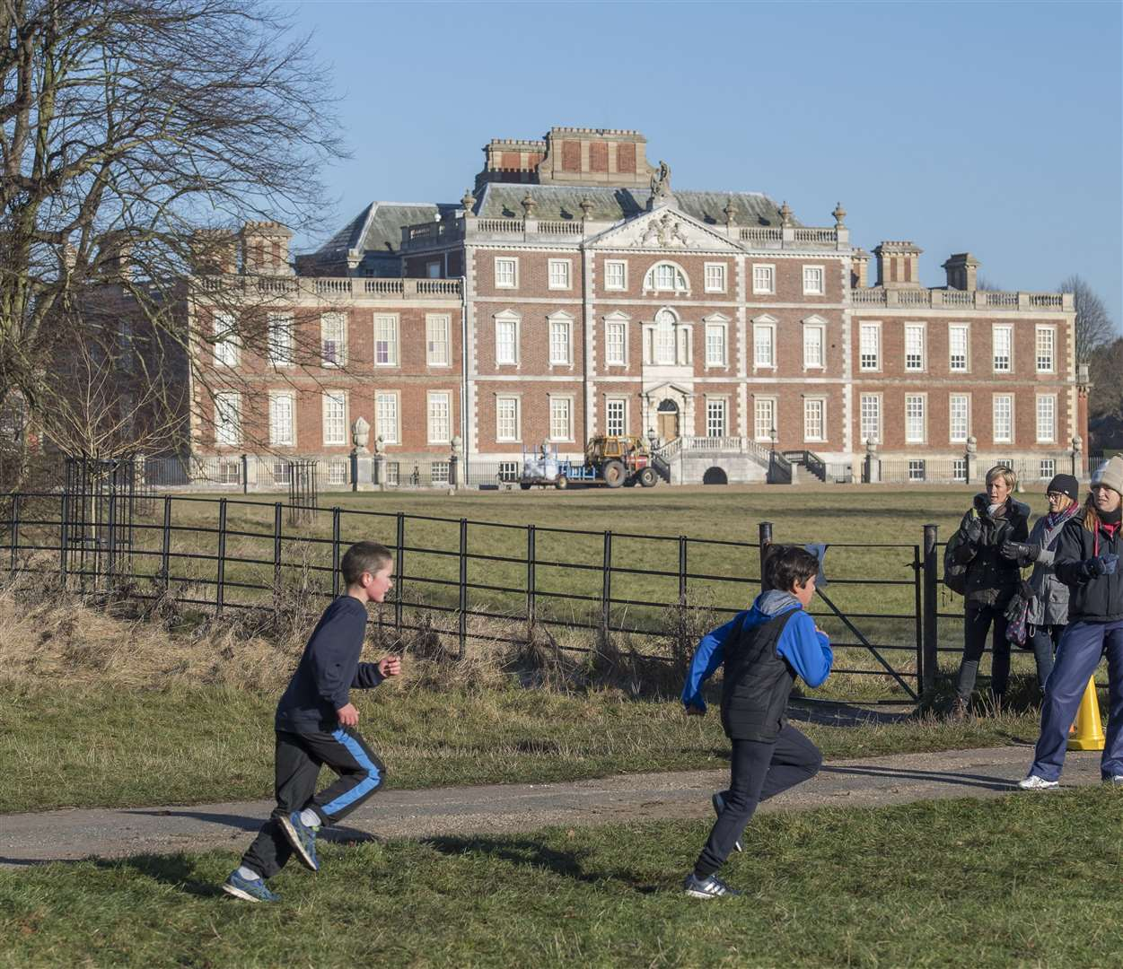 South Cambs SSP Cross Country Wimpole Hall. Picture: Keith Heppell