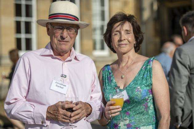 Dame Mary Archer at the NW Brown Summer reception, Kings College. Pictures: Keith Heppell