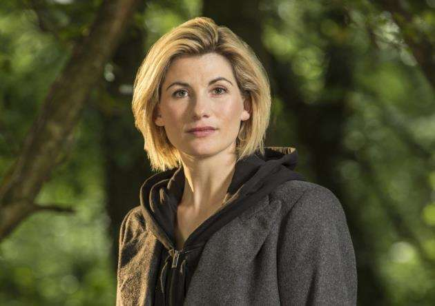 Jodie Whittaker as The Doctor. Picture: BBC / Colin Hutton