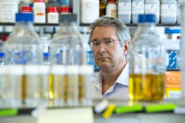 Professor Jonathan Heeney at The Laboratory of Viral Zoonotics in Cambridge. Picture: Keith Heppell
