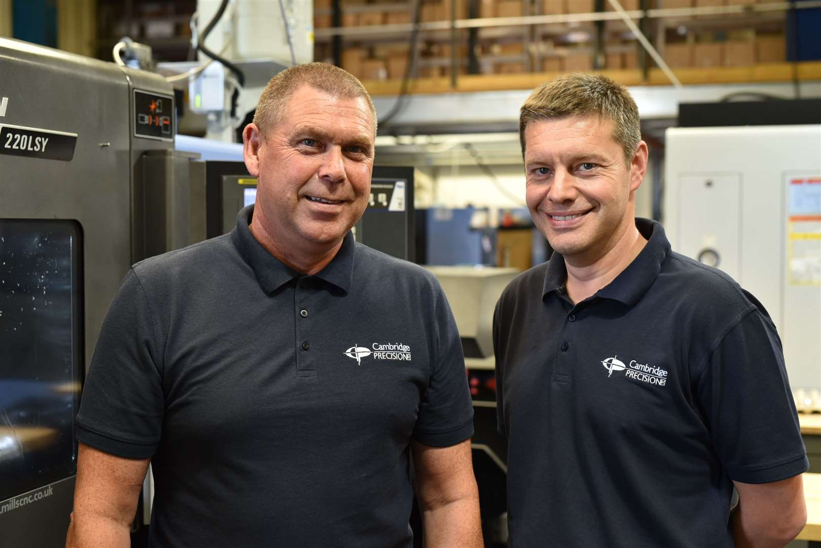 Tony Murray and Nick Raven at Cambridge Precision Ltd. Picture: Alan Bennett 2019 (14935337)