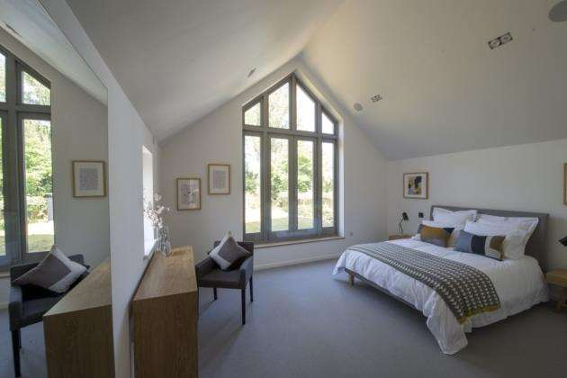 The master bedroom. Picture: Keith Heppell