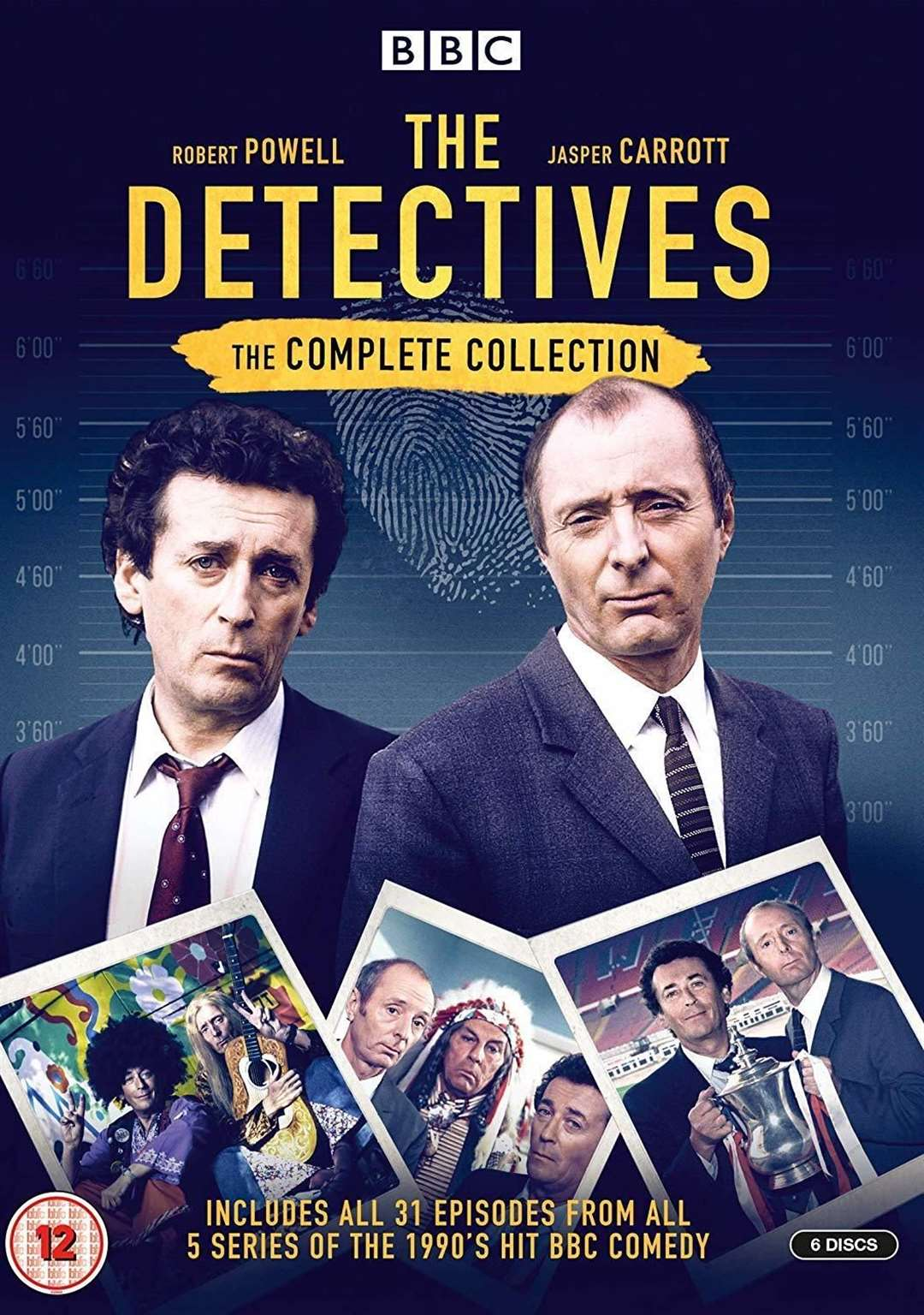 The Detectives DVD cover