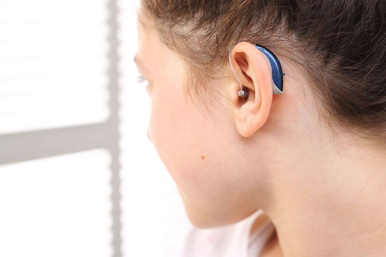 Hearing aid for your child. (15602430)