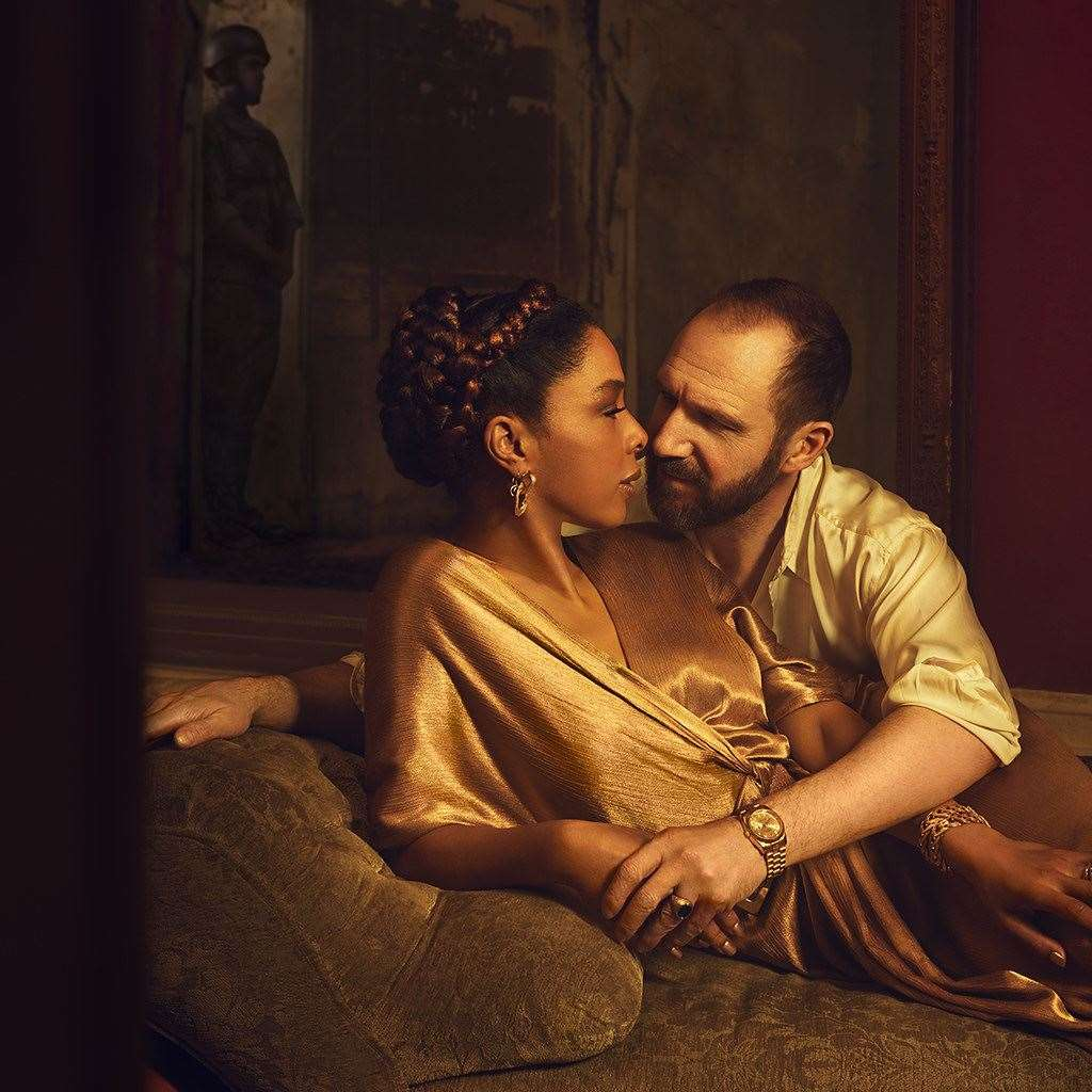 Ralph Fiennes andSophie Okonedo in the National Theatre's Anthony and Cleopatra (33923784)