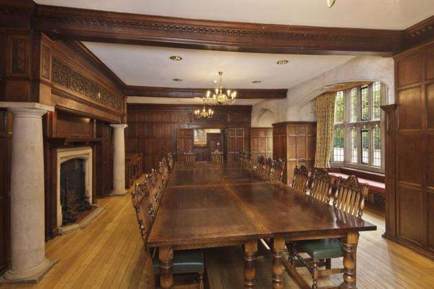 The council room at Lanwades Hall