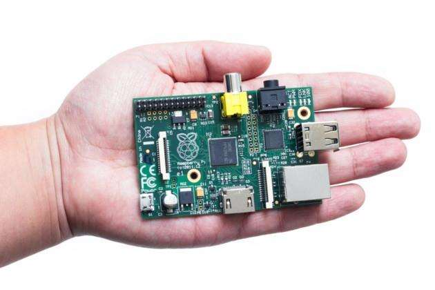 The Raspberry Pi is a credit-card-sized single-board computer.