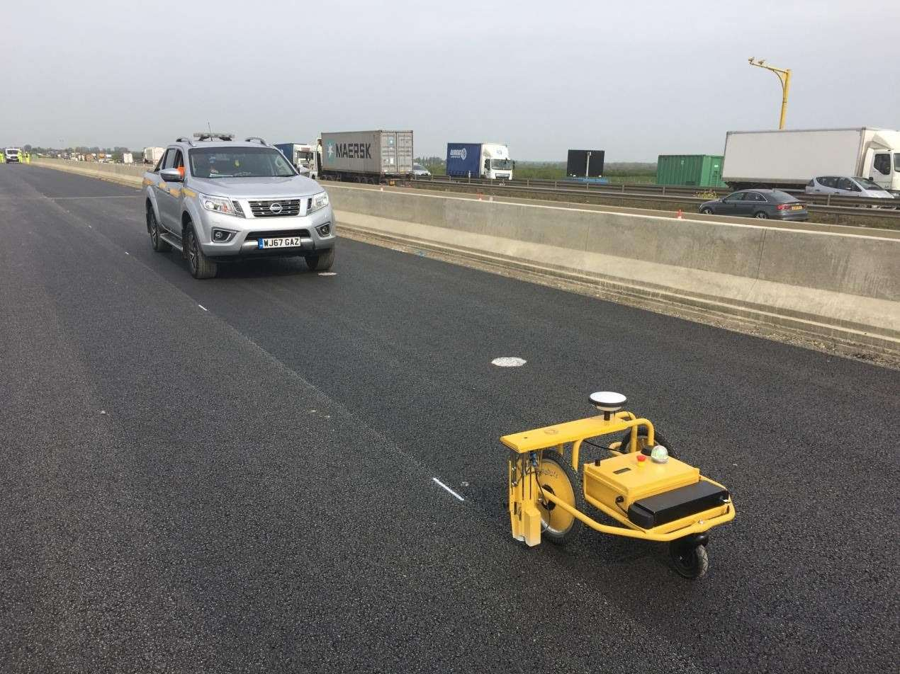 Highways England road marking job just got a lot easier!