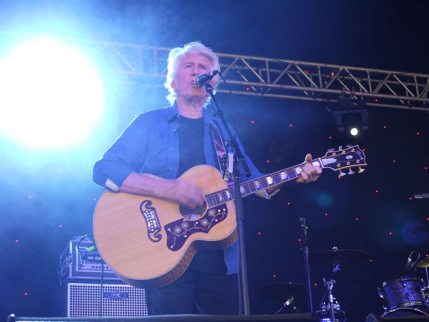 Graham Nash on stage