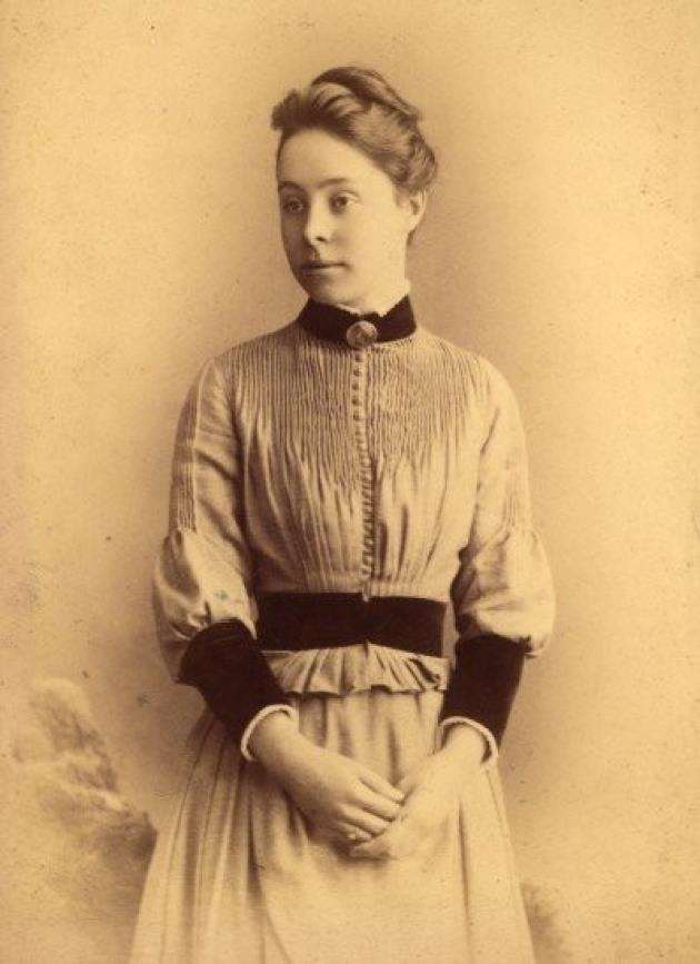 Philippa Fawcett, Millicents daughter, in 1890. During her time as a student at Newnham, she scored the highest mark of all the candidates for the Mathematical Tripos.