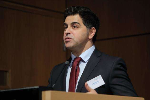 Dr Waheed Arian at the MedTech Futures Conference