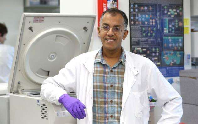 Dr Rahul Roychoudhuri has won the £200,000 Lister Institute fellowship. Picture: Richard Marsham