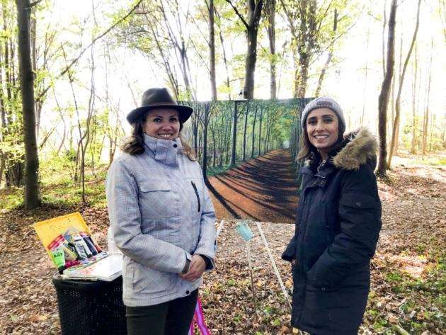 Debbie Baxter and Anita Rani from BBCs Countryfile