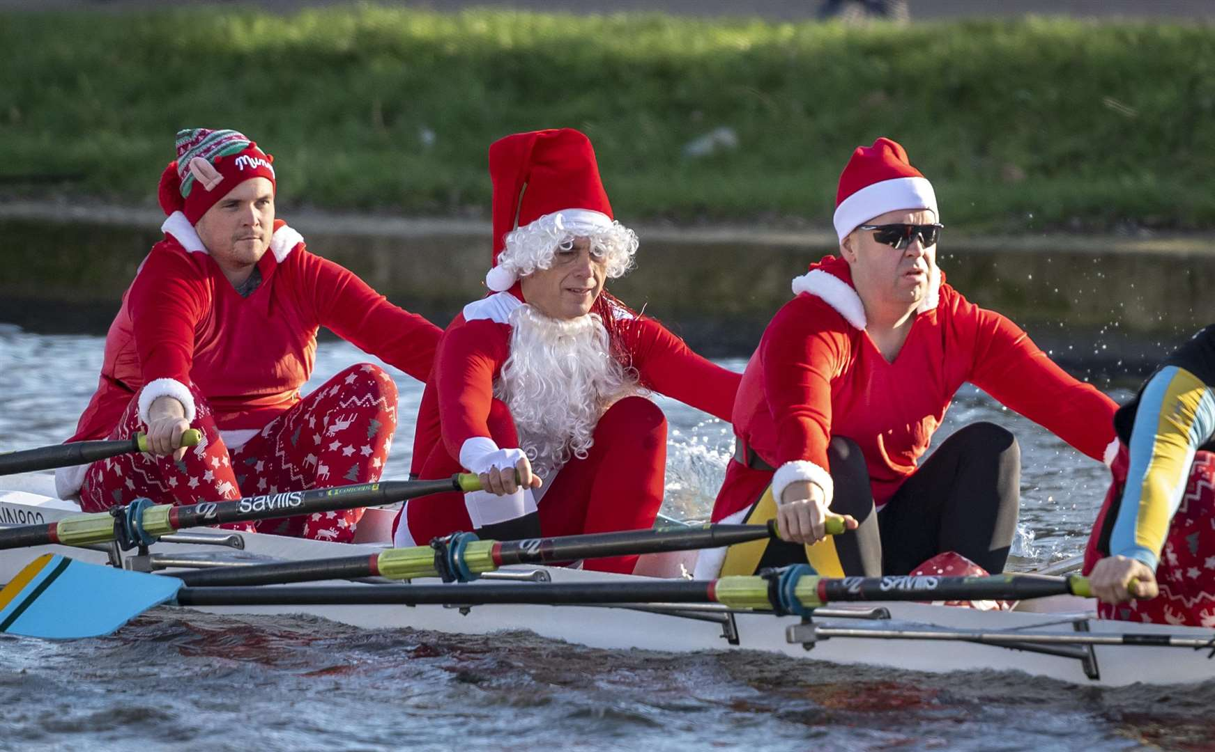 Christmas Head rowing races on the Cam. Picture: Keith Heppell. (5872972)