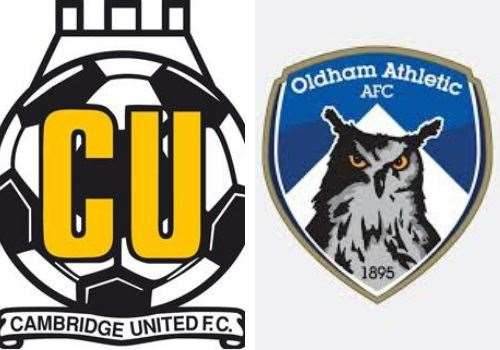 Cambridge United were beaten at home by Oldham Athletic