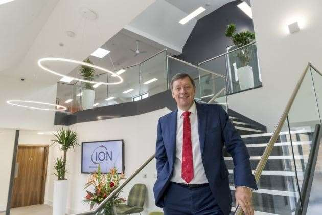 Duncan Johns, MD of Ion Science in Fowlmere (15946533)