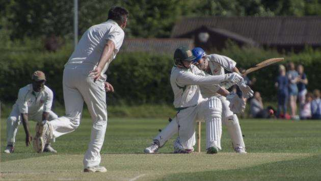 Matt Hague was in top form for Sawston & Babraham
