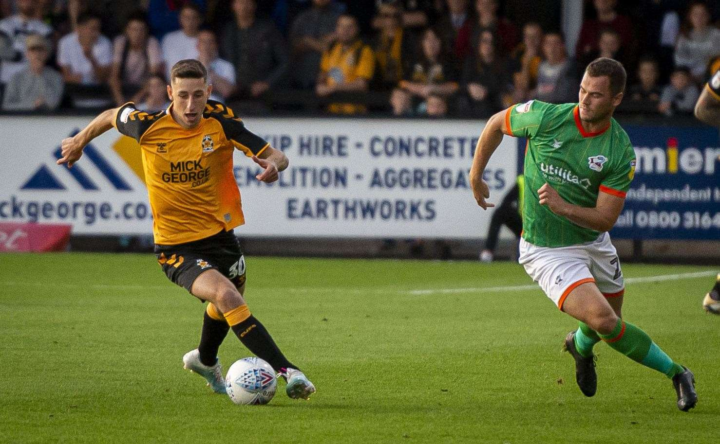 Cambridge United midfielder Jack Roles. Picture: Keith Heppell