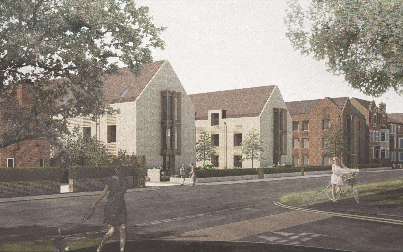 King's College student accomodation plan for Barton Road.(6164358)