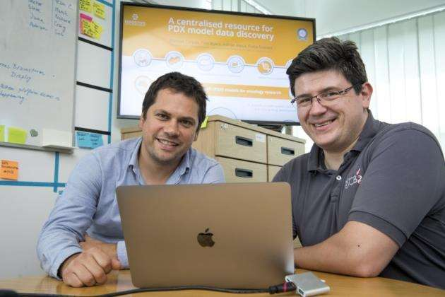 Repositive are based at Future Business Centre. Adrian Alexa, left, with Manuel Corpas . Picture: Keith Heppell