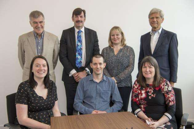 The judging panel for the Cambridge Independent Entrepreneurial Science and Technology Awards