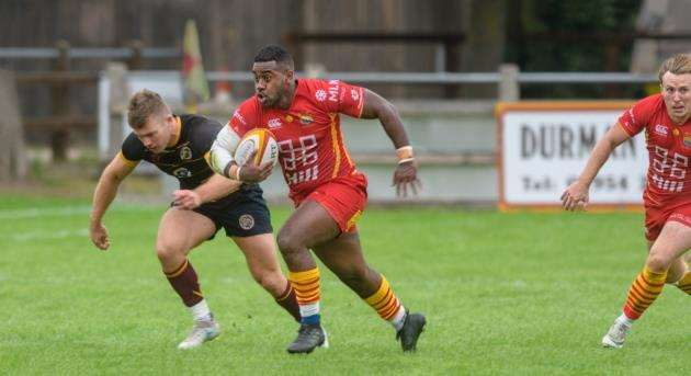 Cambridge Rugby Clubs Sam Yawayawa. Picture: Chris Fell