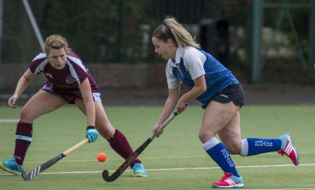 Ellie Martin in action for Cambridge Nomads. Picture: Keith Heppell.