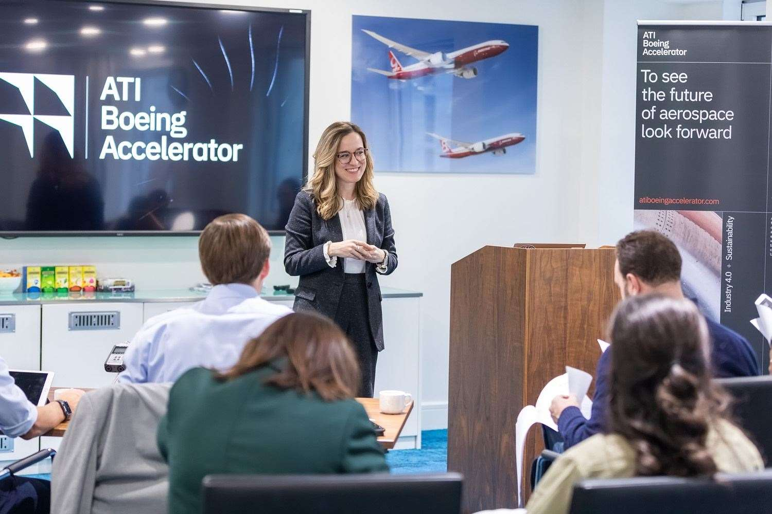 The ATI Boeing Accelerator is an opportunity to look at new materials for aerospace. Picture: Laura De Meo