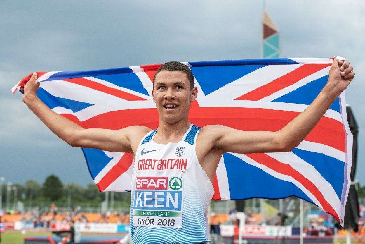 Thomas Keen wins European Under-18 Championships gold. Picture: European Athletics. (8776518)