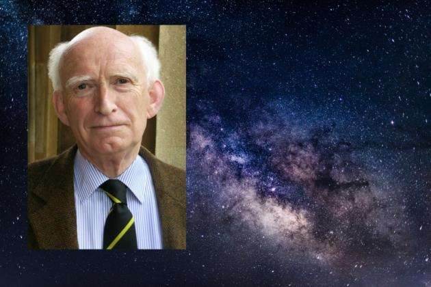 Professor Donald Lynden-Bell was the founding director of the Institute of Astronomy at Cambridge University. Picture: Amanda Smith, IoA, Cambridge